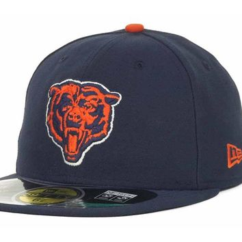 Chicago Bears 59Fifty Alternate On Field GSH Patched Cap