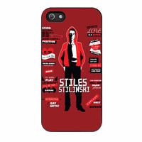 stiles stilinski quotes teen wolf cases for iphone se 5 5s 5c 4 4s 6 6s plus
