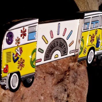 "Summer Set 14 ""Festyvan"" - VW bus Double Slider - Bassnectar - Umphreys McGee - Hat Pin"