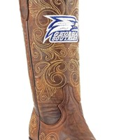 Gameday Georgia Southern Ladies Leather Boots - Brass