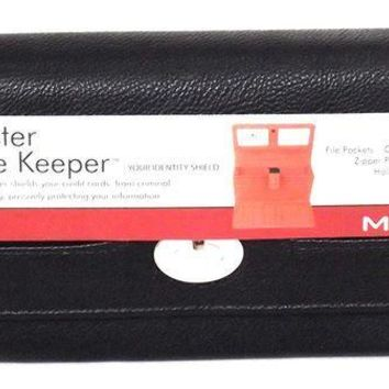 PEAPGQ6 Women's Faux Leather MUNDI FAT WALLET Ladies FILE MASTER Organizer One Size