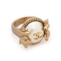 Chanel Bow Ring (Previously Owned)