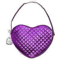 Sephora: JUSTIN BIEBER : Purple Heart Purse : gwp-special-products