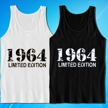 1964 Limited Edition Vintage 50th Birthday t-shirt for mens and womens