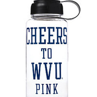 West Virginia University Water Bottle - PINK - Victoria's Secret