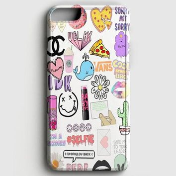 Vans Starbucks Pizza Idk iPhone 6/6S Case
