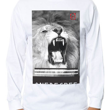 The Aggression 2 LS Tee in White