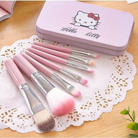 Pink Hello Kitty Tin Make-Up Box