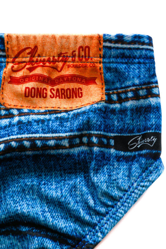 The Daytona Dong Sarong Jeado Swim Brief From Shinesty