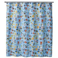 Circo® ABC Alphabet Collection Fabric Shower Curtain