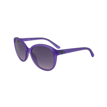 Lacoste Lilac Cat Eye Sunglasses