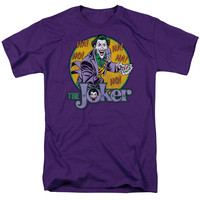 DC/THE JOKER - S/S ADULT 18/1 - PURPLE -