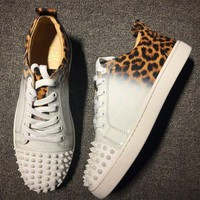 DCCK Cl Christian Louboutin Style #2024 Sneakers Fashion Shoes