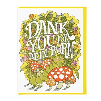 """Dank You"" Birthday Card"