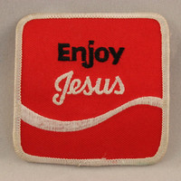 Enjoy Jesus Patch