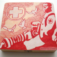 Team Fortress 2 Medic Wooden Box (Made to Order)