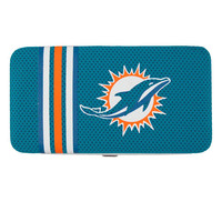 Miami Dolphins NFL Shell Mesh Wallet