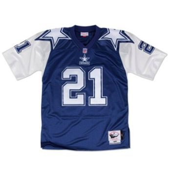 Mitchell & Ness Deion Sanders 1995 Authentic Jersey Dallas Cowboys