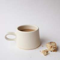 Copenhagen Coffee Mug in Cream