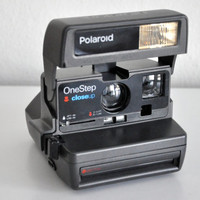 Vintage Polaroid One Step Closeup Instant Film Camera  Tested /Works