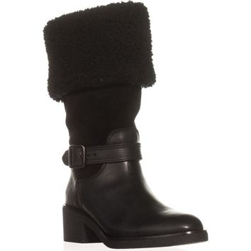 Coach Parka Cold-Weather Boots, Black/Black, 6.5 US / 36.5 EU