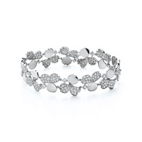 Tiffany & Co. - Tiffany Paper Flowers™:Diamond Cluster Bracelet