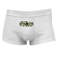 May The Fourth Be With You Mens Cotton Trunk Underwear