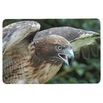 Red-tailed Hawk Photo Floor Mat