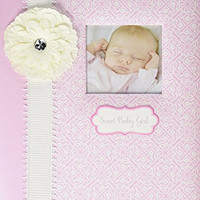 C.R. Gibson 5 Year Baby Memory Book, Bella