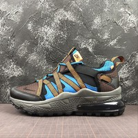 Nike Air Max 270 Bowfin Brow Black Blue Sport Running Shoes - Best Online Sale
