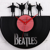 The Beatles art - Beatles Gifts -vinyl record clock