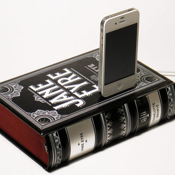 Jane Eyre Book Charger - iPhone 4S and iPod Dock