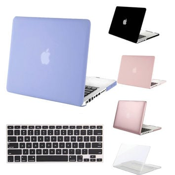 MOSISO Crystal Matte 2 in 1 for Macbook Pro 13 A1278 Plastic Hard Cover Case for Macbook Pro 15inch A1286 Laptop Shell Protector