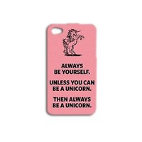 Cute Pink Unicorn Case Funny Phone Cover iPhone Hot iPod Cool Girly Girl