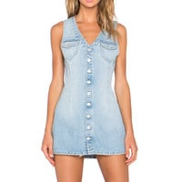 Tularosa Zoe Denim Dress in Manila