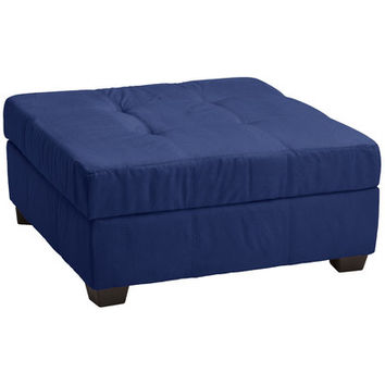 Epic Furnishings LLC Biltmore Tufted Padded Hinged Storage Ottoman | Wayfair