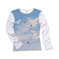 Seagull Womens Longsleeve Shirt - Taylor Swift