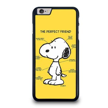 SNOOPY DOG PERFECT FRIEND iPhone 6 / 6S Plus Case Cover