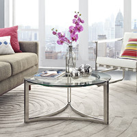 Seal Stainless Steel Coffee Table
