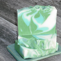 Peppermint Soap / Essential Oil Soap / Minty Fresh / Cold Process Soap