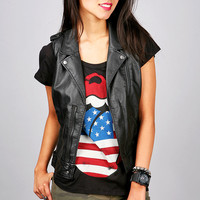 Defiant Moto Vest | Trendy Clothes at Pink Ice