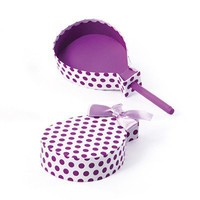 Popsicle Shaped Favor Box Purple Polka Dots24 Pack DIY Gift Packaging