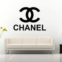 Chanel Logo Wall Decal