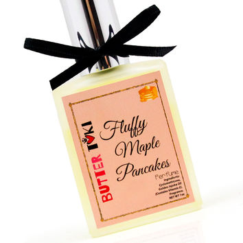 FLUFFY MAPLE PANCAKES Fragrance Oil Based Perfume 1oz