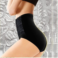 Women modal high waist sexy belly in Carry buttock briefs underwear 4colors freeshipping