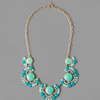 CEDAR GROVE JEWELED NECKLACE