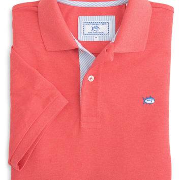 Southern Tide - Signature Stripe Placket Skipjack Polo