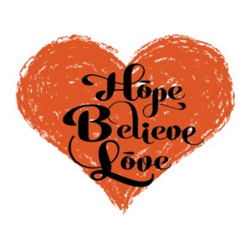 Hope Believe Love Tattoo Set