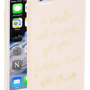 Women s kate spade new york  a smile and a wink  iPhone 6 case - 8fe697302a