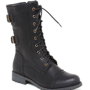 Timberly 02 Combat Boot